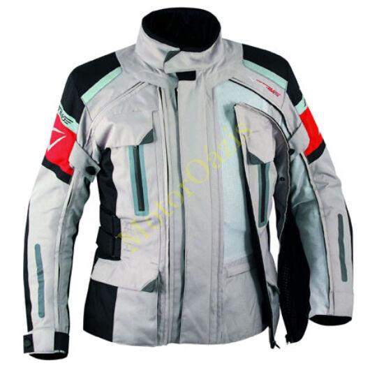 Motoros kabát, A-PRO Turatek 4in1, szürke