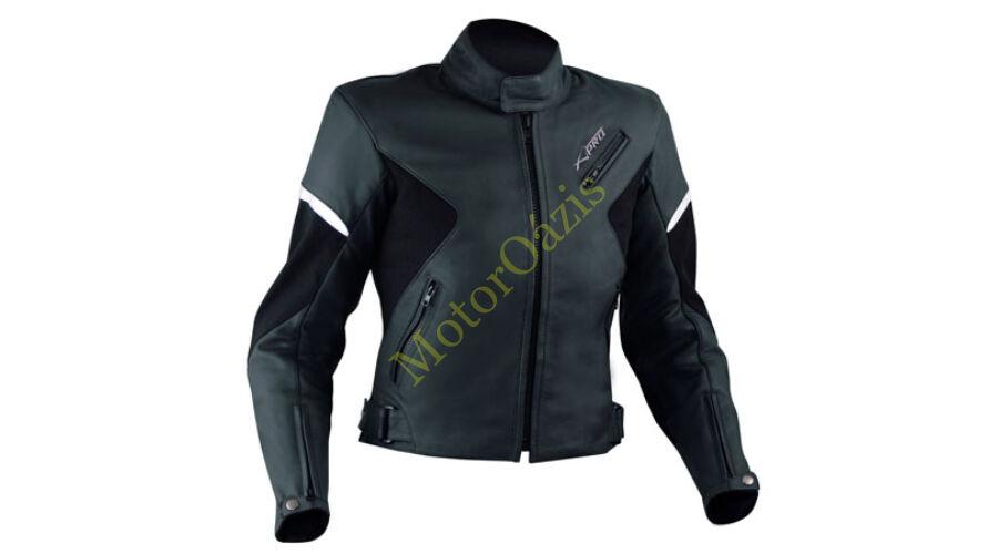 edf91597a5 A-PRO Sphere Lady (női) bőrkabát fekete - Bőrkabátok - MotorOázis ...